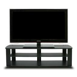 Furinno 11191BK THE Entertainment Center TV Stand, Black Dur