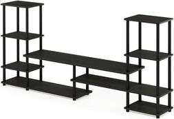 FURINNO 14146EX/BK Grand Entertainment Center Espresso/Black