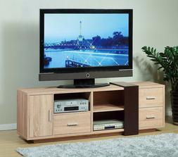 """14899 70"""" Smart Home Weathered White Entertainment Center Dr"""