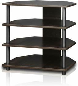Furinno 15093CC/GY Turn-N-Tube Easy Assembly 3-Tier Petite T