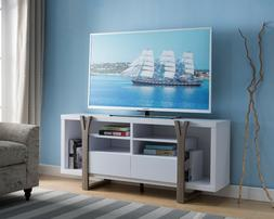 171960 Smart Home Two-tone TV Stand Entertainment Center