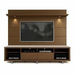 "BOWERY HILL 2.2 Series 85"" TV Stand and Panel in Brown"