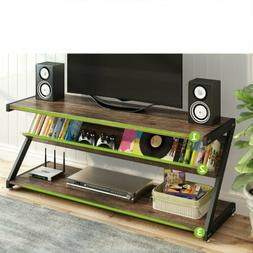 3 tier tv stand 59 large entertainment