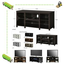 "50"" Wooden TV Stand Entertainment PS4 Games Center Living Ro"
