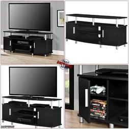 55 Inch TV Stand Entertainment Unit 55in max TV Size Flat Sc