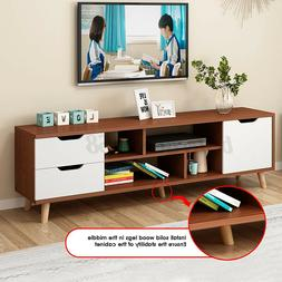 55 tv stand storage cabinet console entertainment