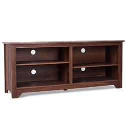 """58"""" TV Console Cabinet Stand Media Entertainment Center Wo"""