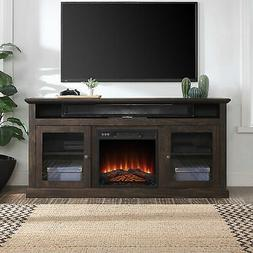 """60"""" TV Stand Console With Shelves For TVs up to 65"""" Wide W/"""