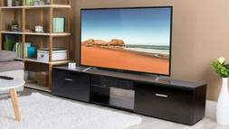 """63"""" TV Stand Entertainment Center Modern End Coffee Table Ho"""