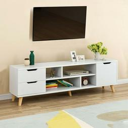 "70""TV Stand Cabinet Unit Console Table Television Furniture"