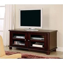 Cappuccino Finish LCD / Plasma Media Storage TV Stand
