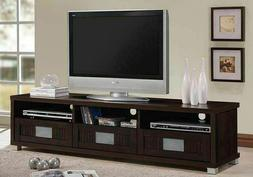75 Inch TV Stand with Storage Drawers Entertainment Center E