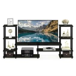 78 in. Entertainment Center Fits TVs Up to 50 in. w/ Open St