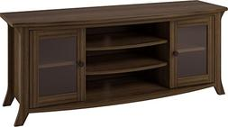 Ameriwood Home Oakridge TV Stand with Glass Doors for TVs up