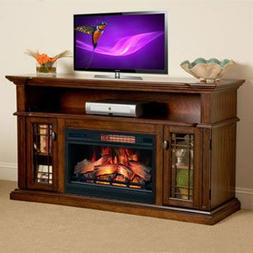 ChimneyFree Wallace Infrared Electric Fireplace Entertainmen