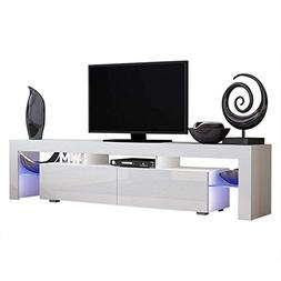 Concept Muebles TV Stand Milano 200 / Modern LED TV Cabinet/