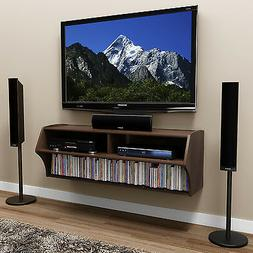 Espresso Altus Wall Mounted Audio/Video Console
