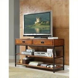 Home Style 5050-06 Modern Craftsman Media Console, Distresse