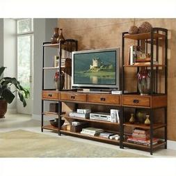 Home Styles 5050-34 Modern Craftsman 3-Piece Gaming Entertai