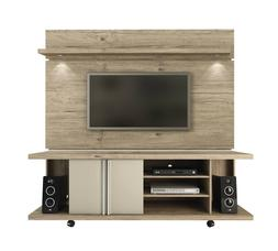 Manhattan Comfort Carnegie TV Stand and Park 1.8 Floating Wa