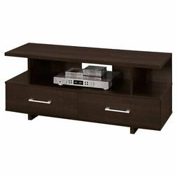 Monarch Specialties 48 in. TV Stand with Storage Drawers