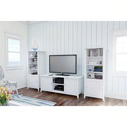 Nexera Vice Versa 3 Piece Entertainment Set with Curio Cabin