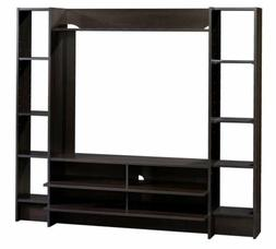 SAUDER Beginnings Cinnamon Cherry Shelved Entertainment TV S