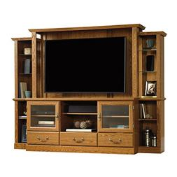 Sauder 402743 Carolina Oak Finish Orchard Hills Home Theater