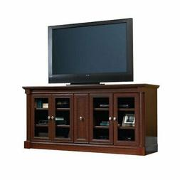 "Sauder 415025 Credenza for TVs up to 70"" Select Cherry Finis"