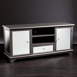 Southern Enterprises Capistrano TV and Media Stand, Silver