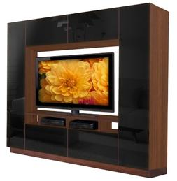Alexander Entertainment Center - A Modern Favorite w Enclose