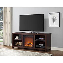"Altra Edgewood TV Console with Fireplace for TVs up to 60"","