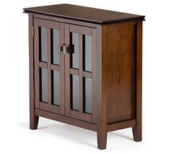 Simpli Home Artisan 2 Door Storage Cabinet