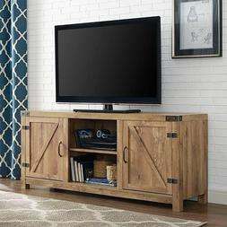 Barnwood TV Stand/Entertainment Center, Media Console, Stora