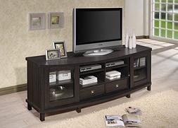 Baxton Studio Wholesale Interiors Walda Wood TV Cabinet with