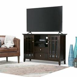 Simpli Home Bedford Collection TV Media Stand - 53 x 16.5 x