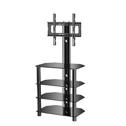 TAVR 4-Tiers Media Component TV Stand with Mount Audio Shelf