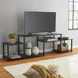 Black Oak TV Stand Entertainment Center For TVs Up To 52 Set