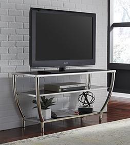 Blasical Contemporary Black Glass Top with Chrome Finish Ste