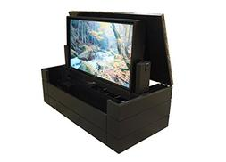 American TV Lift Cabinet - Handcrafted Low Profile Granite T