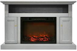 Cambridge CAM5021-2GRY Sorrento Electric Fireplace with 1500