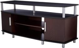 Ameriwood Home Carson TV Stand 50 Inches Wide Entertainment