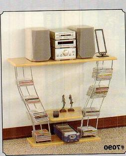 Chrome entertainment center