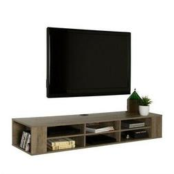 South Shore City Life 66 Wall Mounted Media Console Weathere