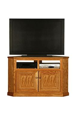 "Eagle Classic Oak Corner TV Cart, 50"" Tall, Medium Oak Finis"