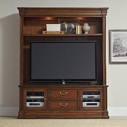 "Hooker Furniture Clermont 2-Piece 75"" Entertainment Center i"
