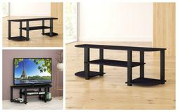 TV Stand Entertainment Unit Center Console Table Storage Med