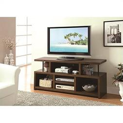 Coaster Home Furnishings Contemporary TV Console, Brown
