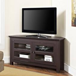 """Corner TV Stand for TVs up to 48"""", Multiple Colors, Home Fur"""