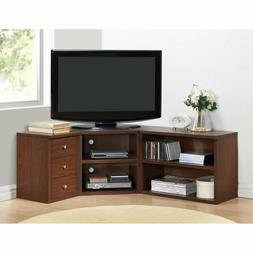 Corner TV Stand Flat Screen Entertainment Center Media Cabin